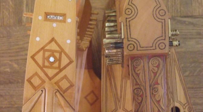 Gothic harp vs Gaelic harp