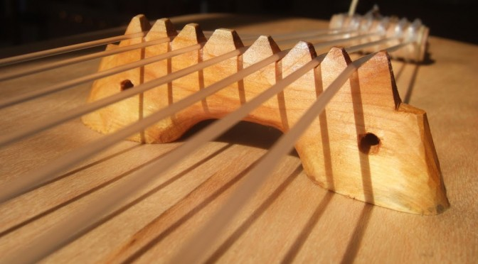 7 string lyre bridge