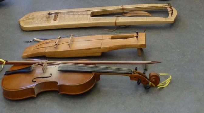 Bowed-harp workshop