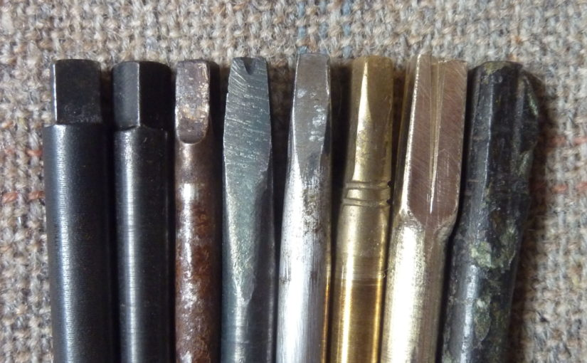 A typology of tuning pins