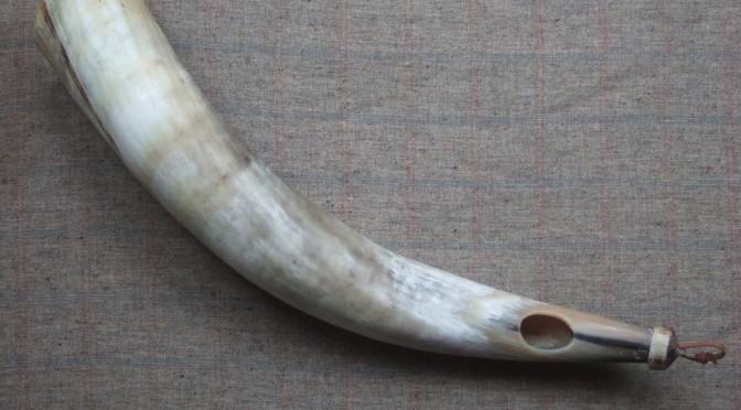 Bronze age horn