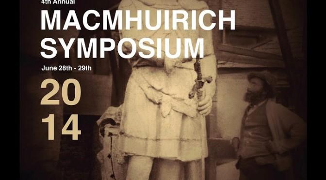 MacMhuirich symposium