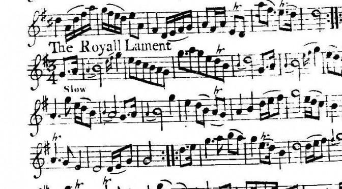 An Caoine Rioghaill – The Royal Lament