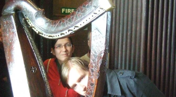 Restringing the Otway harp