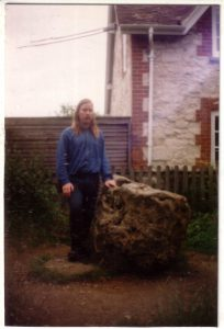 Me at the blowing stone over 15 years ago
