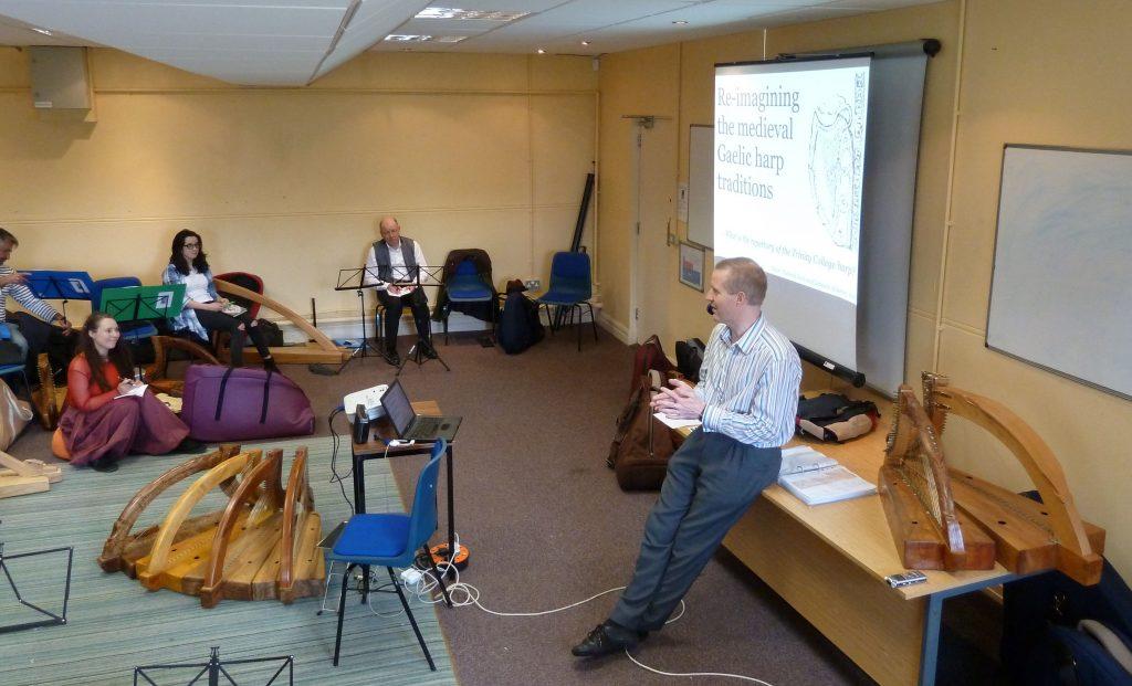 My medieval repertory workshop. Photo: Karen Loomis