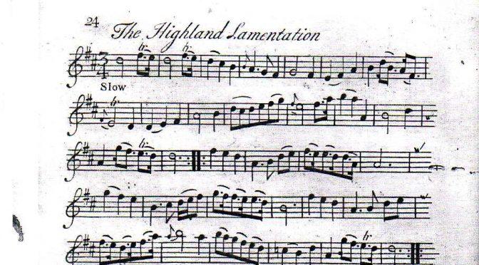 The Highland Lamentation