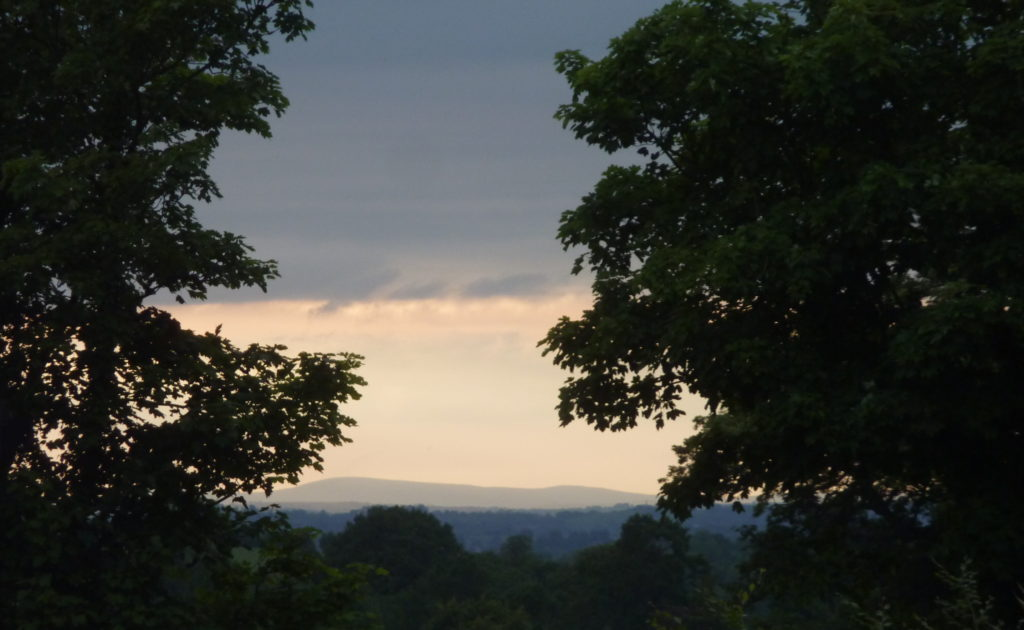 View of Slieve Gallion from Armagh