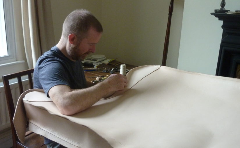 Making the harp case